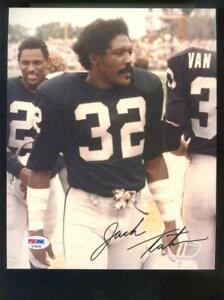 Jack Tatum Oakland Raiders 8x10 Photo Signed Autograph Auto PSA/DNA Football NFL