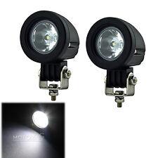 2X 10W Cree LED Work Light Spot Lamp Driving Fog Car Motorcycle Boat ATV SUV 12V