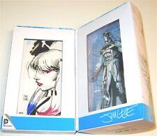 SDCC EXC Jim Lee SIGNED BlueLine Batman Figure Original Harley Quinn Art Sketch