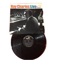 Ray Charles – Ray Charles Live In Concert  *1965:ABC-Paramount ABC-500 (MONO)