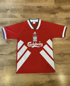 Vintage Liverpool Home Shirt 93/94/95 Champions Size Small Perfect Condition