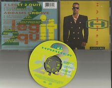 MC HAMMER 2 Legit quit REMIXES & Addams Groove INSTRUMENTAL LIMITED CD single US