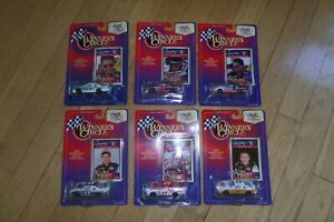 1997 1/64 Winners Circle - #17 DARRELL WALTRIP 25th ANN - Nascar Set Lot of 6