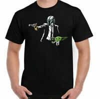 Pulp Fiction T-SHIRT, Yoda Star Wars Parody The Boba Fett The Top