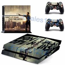 The Walking Dead Rick Grimes Vinyl Skin Decals PS4 Playstations 2 Controllers