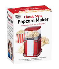 RETRO ELECTRIC HOT AIR POPCORN MAKER POP CORN MAKING POPPING POPPER MACHINE