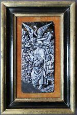 XVII - Plaque en émail peinte en grisaille sur cuivre figurant St Jérôme 17th
