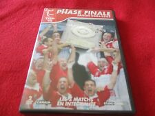 """RARE! COF 2 DVD """"PHASE FINALE, SAISON 2004 - 2005"""" les 3 matchs / RUGBY TOP 16"""