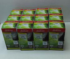 12 Bulbs Sunbeam Led 9w Bulbs Warm White E26 Base A19 60w Replacement 800 Lumens
