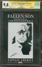 Captain America 3 CGC 9.8 SS Greg Horn Original art sketch Avengers Infinity War