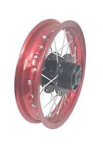 "12"" 14"" Rear Rim Wheel Disk Brake Apollo SSR 125cc XR CRF Dirt Pit Bike Tao"