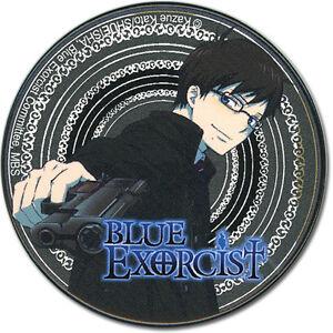 **Legit** Blue Exorcist SD Yukio 2.25'' Authentic Anime Metal Button #7474