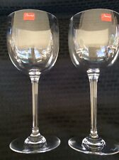 2 NEW Baccarat Montaigne Red Wine Glasses