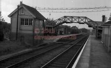 PHOTO  SR GODSTONE RAILWAY STATION VIEW 1953