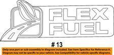 FORD OEM Back Door-Emblem Badge Nameplate 8C2Z1642528B