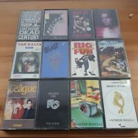Cassette Bundle Job Lot 80s Rock Indie Alternative