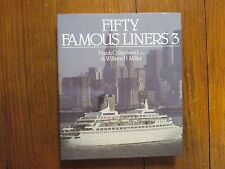FRANK O. BRAYNARD(Died-2007)signed Book(FIFTY FAMOUS LINERS 3-1988 1st Edit Hard