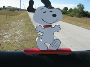 "Snoopy ""Happy Dance"" Mailbox Topper Handmade"