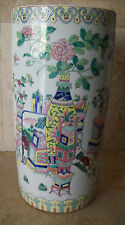 Chinese Porcelain Umbrella /Stick Stand Signed With Reign Mark