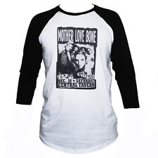 Mother Love Bone Metal Grunge Music Poster T shirt 3/4 Sleeve Classic Fit Tee