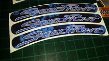 Peugeot speedfight Rim tape Wheel stickers EXCLUSIVE 50 70 100 SF1 SF2 SF3 RS A