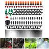 40m Water Irrigation Kit Set Micro Drip Watering System Auto Plant Garden Adjust