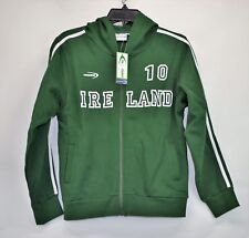 Lansdowne NWT Womens Size 10 Green Ireland Full Zip Hooded Jacket (E1)
