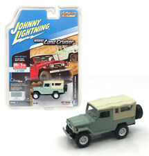 Johnny Lightning Toyota Land Cruiser 1980 Softtop Green JLCP7031 1/64
