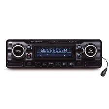 CALIBER RMD120BT/B 1-DIN Retro Bluetooth/USB/SD Oldtimer Autoradio - Schwarz