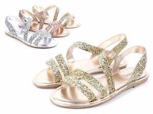 Bamboo Glitter Sandals for Women for