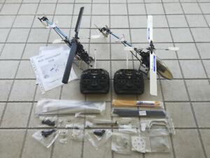 Coppia Elicotteri Walkera #35 e #36 Perfettamente Funzionanti +Parti di Ricambio