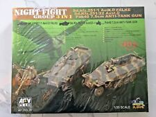 AFV CLUB 1/35 WW II GERMAN SD.KFZ. 251/1, 251/22 & PAK 40 ANTI-TANK GUN 35S38 FS