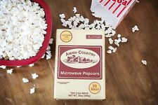 Amish Country Popcorn -Gourmet Microwave Popcorn - Butter 10 Pk- Movie Theater!