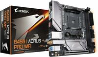 NEW GIGABYTE B450 I AORUS PRO WIFI Mini-ITX Gaming motherboard from JAPAN