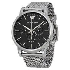 EMPORIO ARMANI AR1808 Classic Chronograph Black Dial Men's Wrist Watch