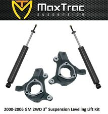 "MaxTrac 3"" Lift Kit for 2000-2006 Avalanche Tahoe Yukkon Suburban Escalade 2WD"