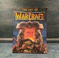 The Art of Warcraft Blizzard Entertainment Paperback Book 2002