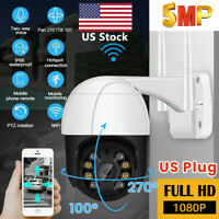 ICSEE 1080P WIFI IP Camera Wireless Outdoor 5MP CCTV PTZ Home Security IR Cam US