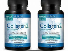 NeoCell Collagen 2 Joint Complex Capsules 2400 mg 120 Capsules (Paks of 2)