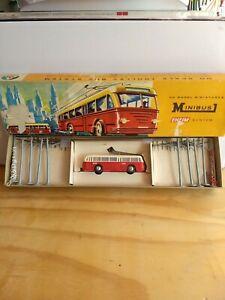 Vintage Eheim by AHM HO Minibus System Item -Trolley Bus-Very Good Condition.