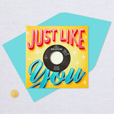 Hallmark Birthday Greeting Card - Vinyl Record (Real) Tina Turner 45 Record  NEW