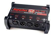 Superlux PS-2B Battery / Mains Powered Microphone Dual Phantom Power Supply