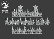 Warmaster-Proxy impréssion 3d-Lanciers squelettes-Morts vivants-Echelle 10MM