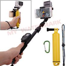 Extendable Monopod+Dual Camera Pole+Phone Holder+Floating for GoPro Hero2/3/3+/4