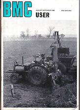 BMC User Aug-Sep 1968 Austin FX4 Taxi Austin J2 Omnibus Nuffield Tractors +