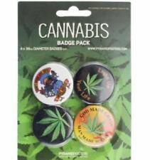 Cannabis - Official Button Badge Pack (bp006)