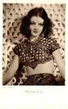 Cartolina Formato Piccolo Attrice Myrna Loy - Non Viaggiata