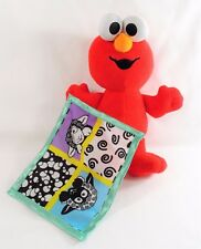 Fisher Price 2003 Baby Elmo & Blankie Plush Black Sheep Security Blanket Rattle