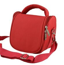 AR2 Red Camera Case Bag for Samsung WB1100F WB100 WB2100 Bridge Camera