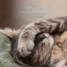 Happy Birthday Cat - Cat Foil Birthday Card